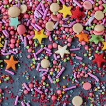Sprinkles y Fideos de Azúcar