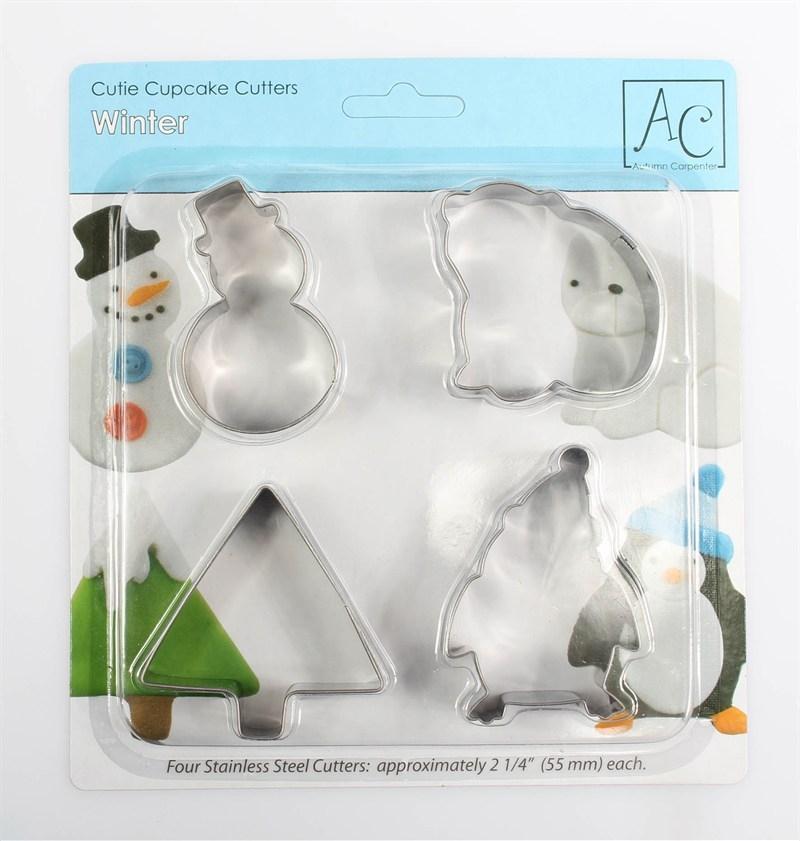 Winter Cookie Cutter Set AC