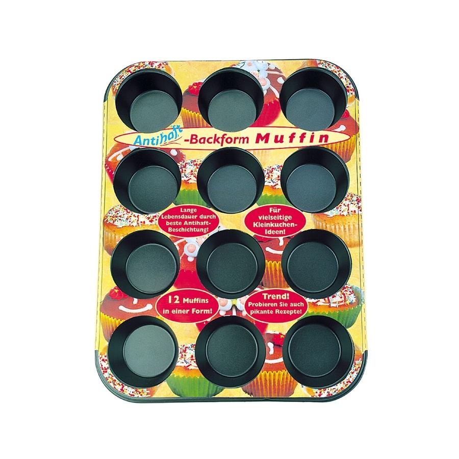Molde para 12 muffins