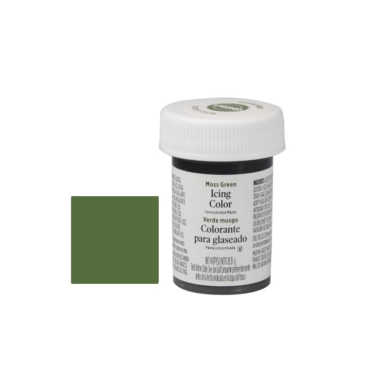 Colorante en gel Verde Musgo