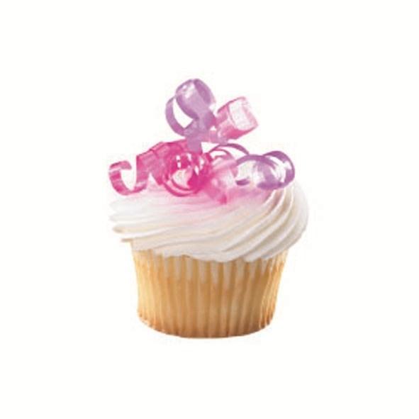 Juego de 6 Lacitos decorativos Pink