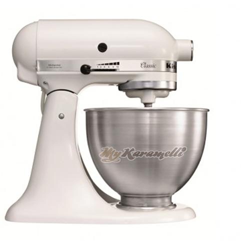 KitchenAid K45SS EWH Robot Blanco