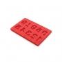 Molde silicona piruletas de Números