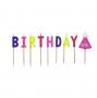 Velas de cumpleaños para niña