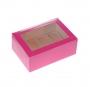 Caja para 6 cupcakes Hot Pink