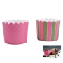 Muffin Wrapper Pink & Green