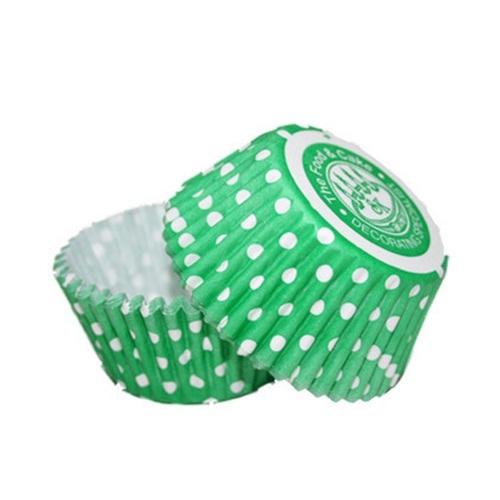 Cápsulas cupcakes lunares verde Squires Kitchen