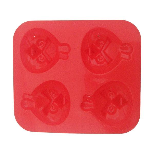 Molde de silicona Red Angry Birds