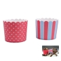 Muffin Wrapper Red & Blue