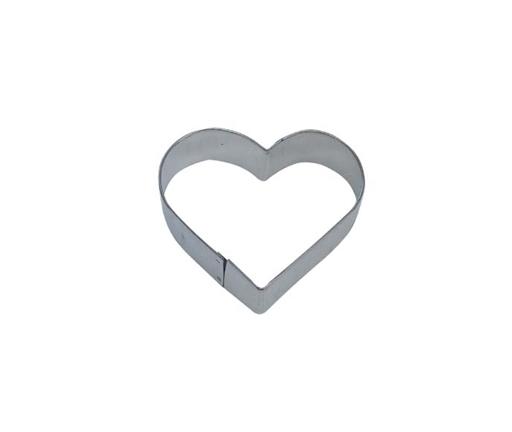 Cortador metálico corazón 5 cm