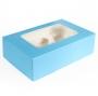 Caja para 6 cupcakes Baby Blue