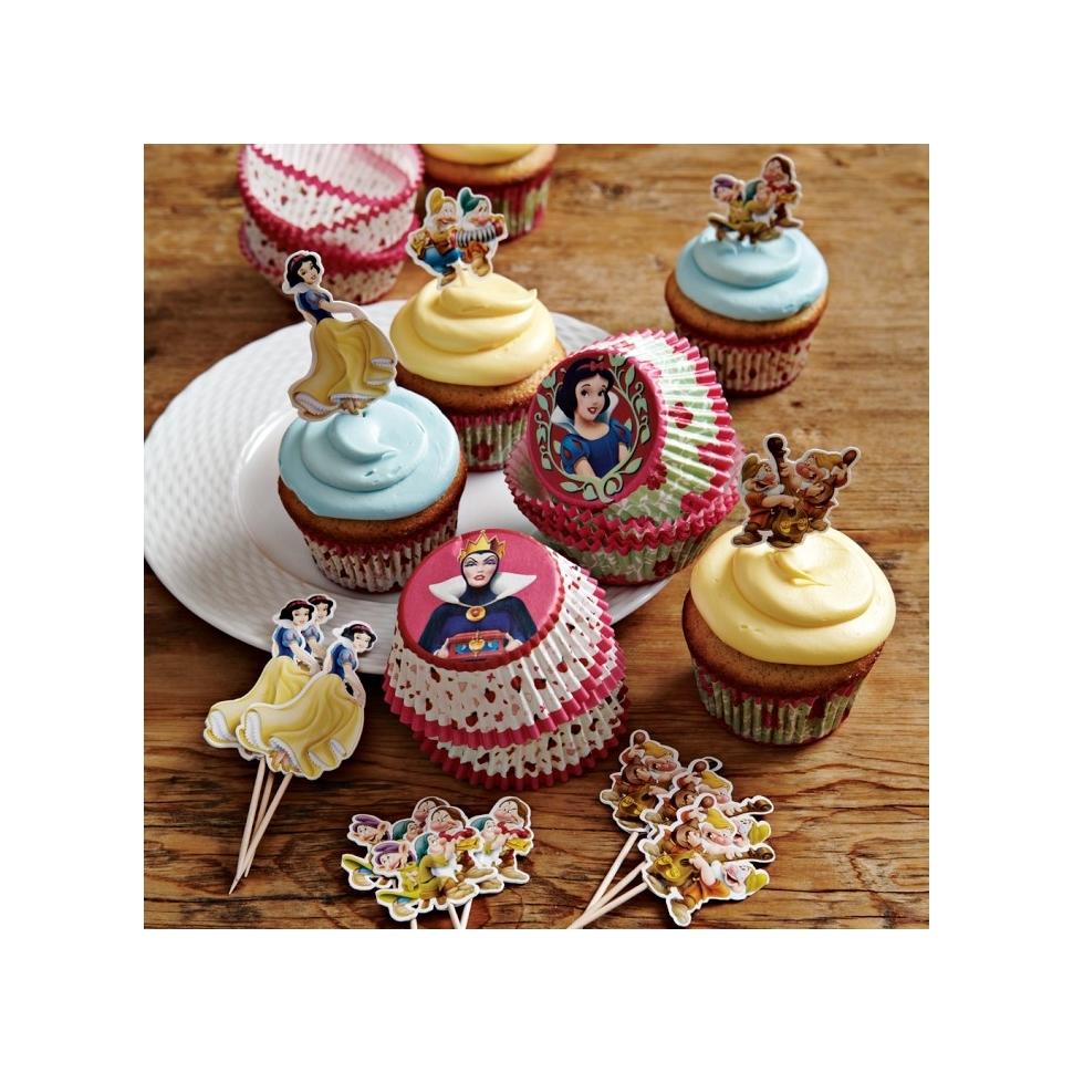 Blancanieves Cupcake Kit Decoration