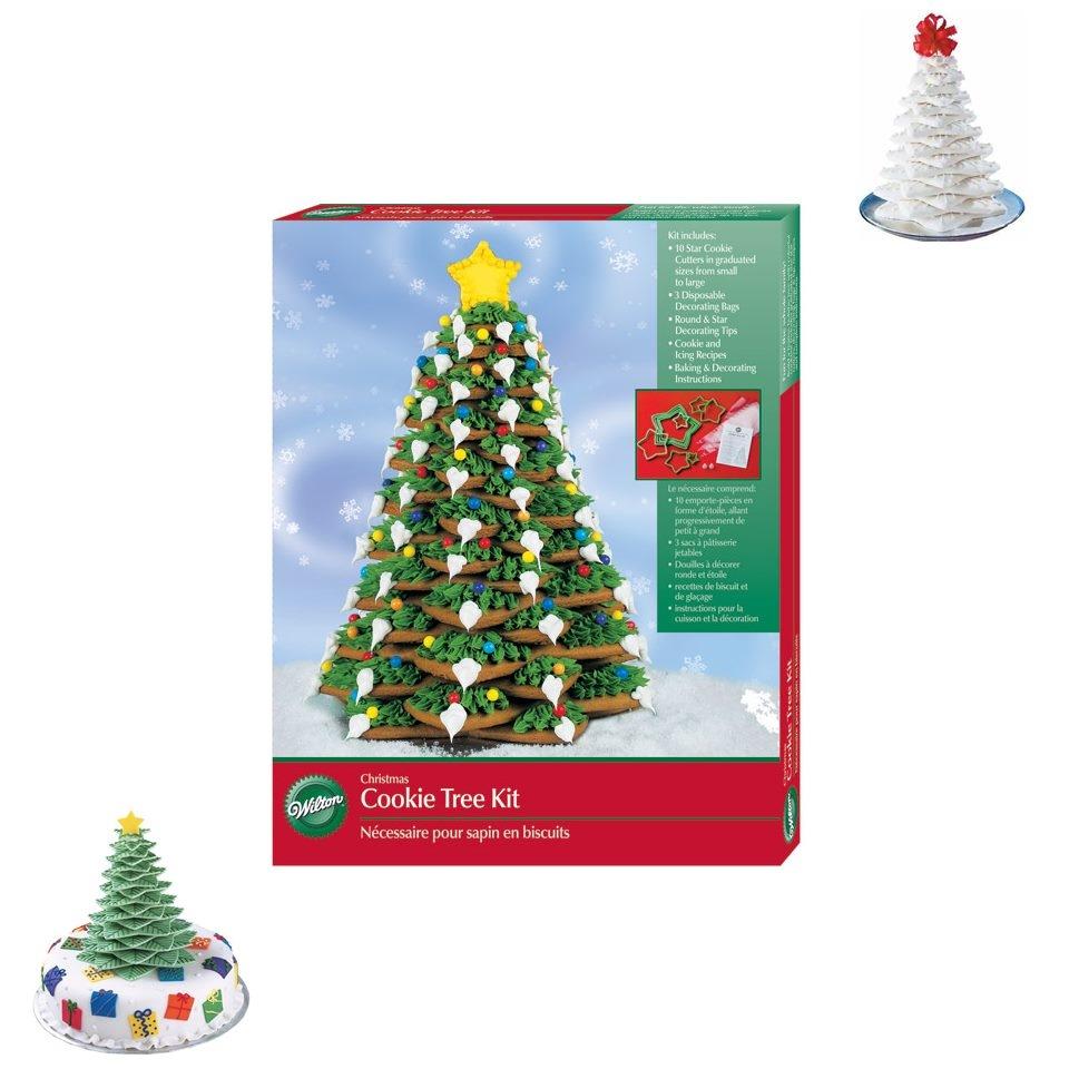 Kit de cortadores Árbol de Navidad wilton