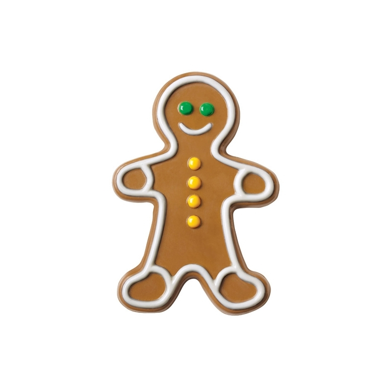 Molde para chocolate Gingerbread boy