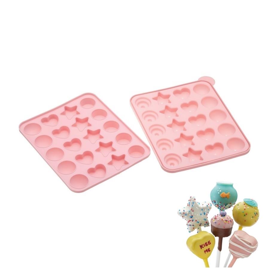 Molde de silicona para cake pops Formas