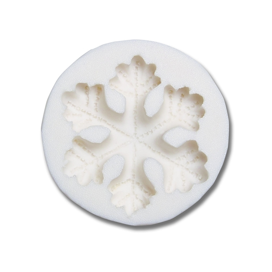 Molde silicona copo de nieve