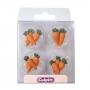 Set de 12 zanahorias de azúcar