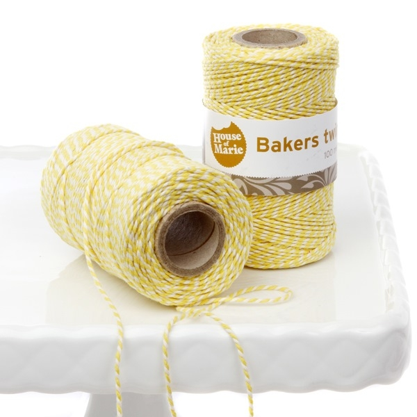 Bakers Twine Amarillo 20 mts.
