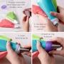 Adaptador para hacer decoración tricolor