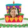 Adorno con foto para tartas pastel de cumpleaños