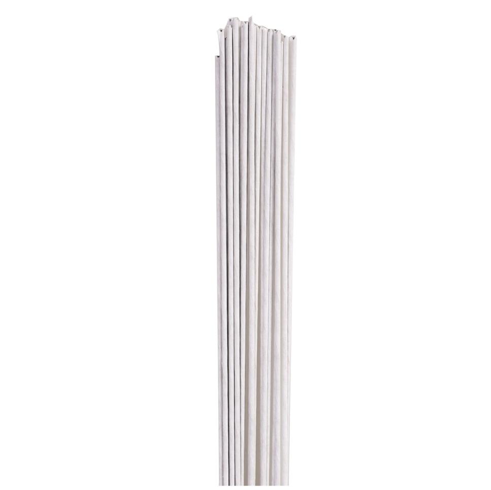 Alambre para flores Blanco calibre 28 (50 uds)
