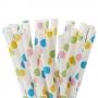Pajitas Fancy Dots para cake pops y bebidas