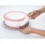 Base giratoria de Cristal para decorar y presentar tartas