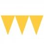 Banderín de Papel Amarillo 4,5 metros