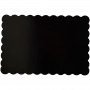 Bases Rectangulares Negras 33x48cm