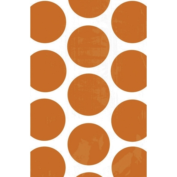 Bolsas para Chuches Lunares Naranjas