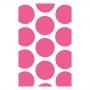 Bolsas para Dulces Lunares Rosa Fuerte