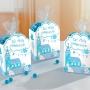 Bolsas y Cajas para Dulces Comunión Iglesia Azul