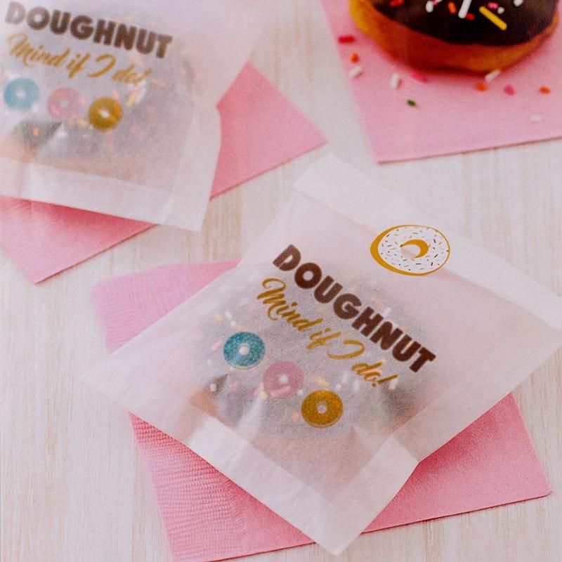Bolsitas Donuts y dulces con Pegatinas