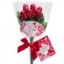 Bouquet Rosas de Chocolate 30 gr