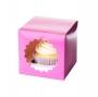 Caja 1 cupcakes Hot Pink