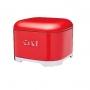 Caja metálica Retro para tartas Roja