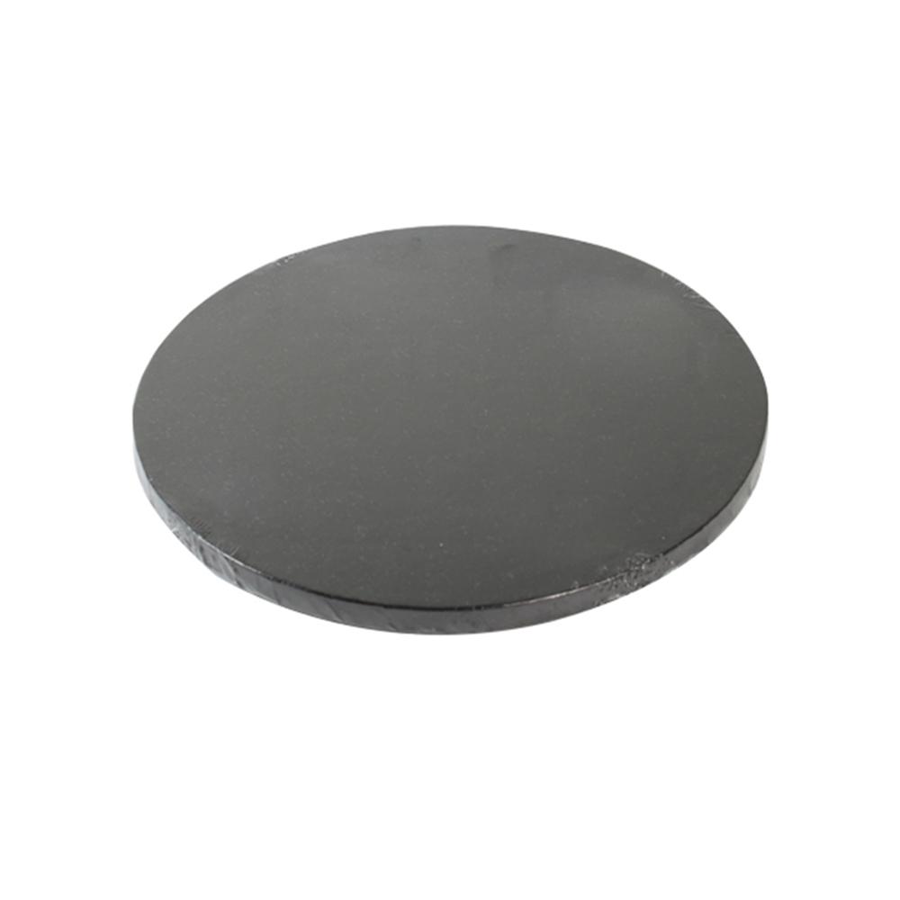 Cake drum negro metalizado 30cm