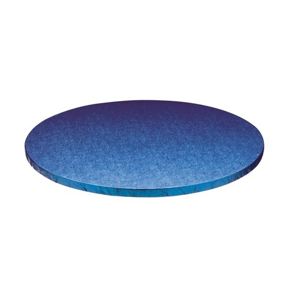 Cake drum redondo azul 30cm