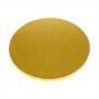 Cake drum redondo dorado 35 cm