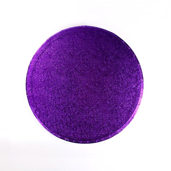 Cake Drum Redondo Violeta 35 cm