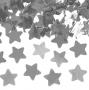 Cañón confetti estrellas plateadas 40cm