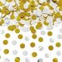 Cañón de Confetti Círculos Metalizados 40 cm