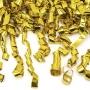 Cañón de confeti oro 40cm