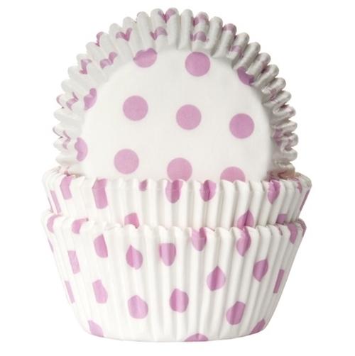 Cápsulas cupcakes Baby Pink Polka dot