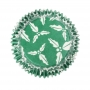 Cápsulas para cupcakes Holly Green de Culpitt