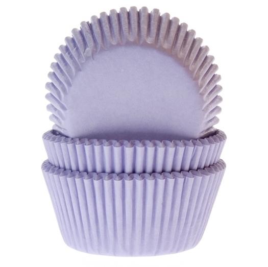 Cápsulas para Cupcakes Lilac