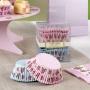 Cápsulas para cupcakes Vintage rose