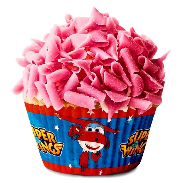 Cápsulas para Cupcakes Super Wings