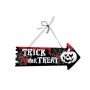 Cartel Flecha Halloween 36 cm Modelo 1