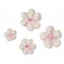Juego 36 decoraciones Mixed Blossoms Pink